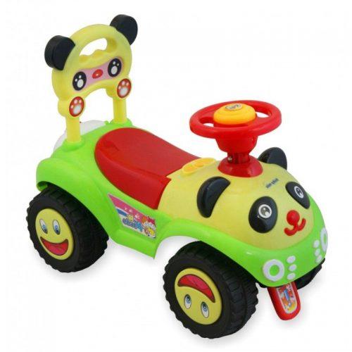 Stumjamā mašīna BABY MIX PANDA  7601 zaļš