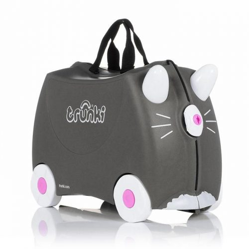 TRUNKI KOFERIS AR RITEŅIEM BENNY THE CAT