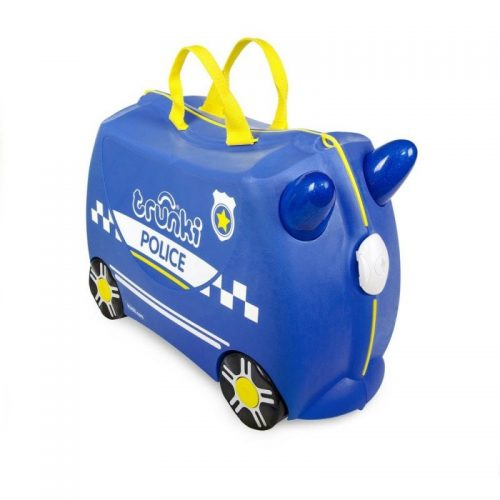 TRUNKI KOFERIS AR RITEŅIEM PERCY POLICE CAR