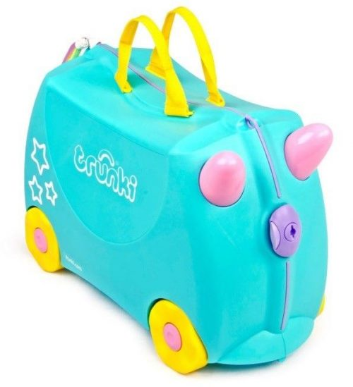 TRUNKI KOFERIS AR RITEŅIEM UNA THE UNICORN