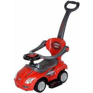 Bērnu stumjamā mašīna 3in1 ELGROM MEGA CAR 00382, sarkans