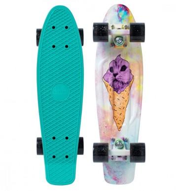 """skrituļdēlis  Penny boards """"22"""" ar dizainu – saldējums"""