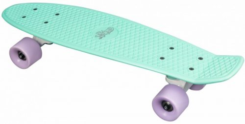 NO RULES SKATEBOARD FUN SKRITUĻDĒLIS MINT-PURBLE