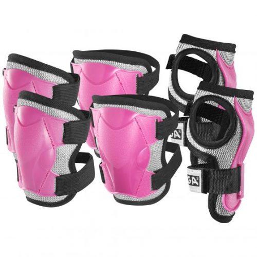STIGA Aizsardz. kompl.Comfort JR rozā XS