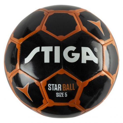 STIGA Futbola bumba STAR izmērs:5 melna/oranža
