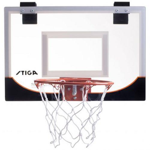 STIGA Mini basketbola grozs 18″, bask. bumba 13 cm kompl.