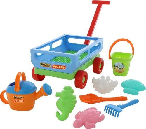 Smilšu kastes rotaļlietu komplekts