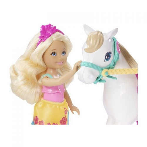 Barbie lelle  Chelsea ar poniju