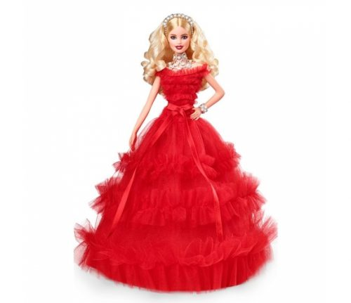 Barbie lelle  Holiday doll 2018