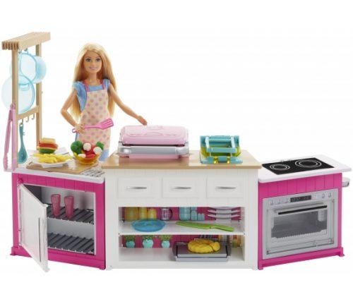 Barbie lelle un virtuve The Ultimate Kitchen Playset