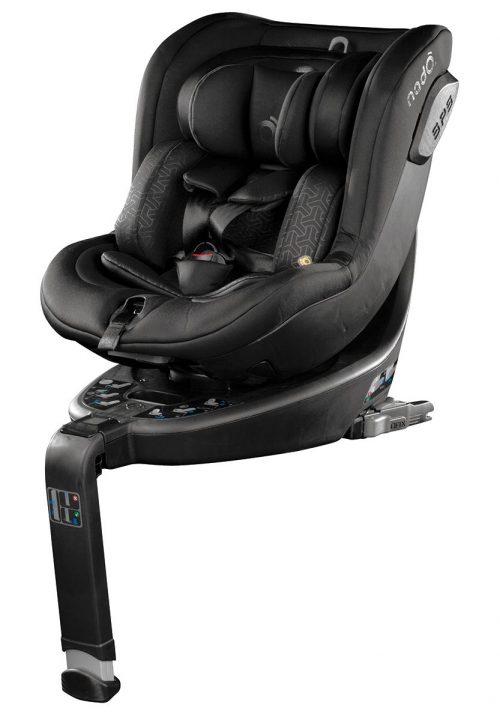 Be Cool autokrēsliņš O3 Plus 360° (0-18kg) 2019 SHADOW