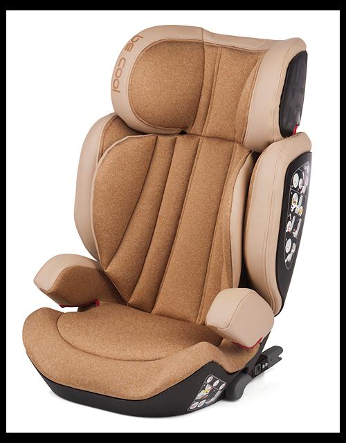 BeCool autokrēsliņš  Tornado I-fix (15-36kg) 2019 CASHMERE