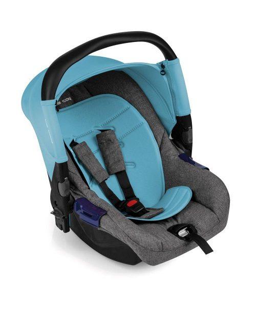 BeCool autokrēsliņš ZERO 2019 GRUPA O+ ( 0-13kg) BE SOLID-BLUE