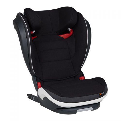 BeSave auto krēsliņš iZi Flex S FIX 15-36 kg – Midnight Black Melange krāsa