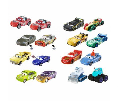 Cars 3 Character Die Cast komplekts ar 2 mašīnām no filmas Vāģi