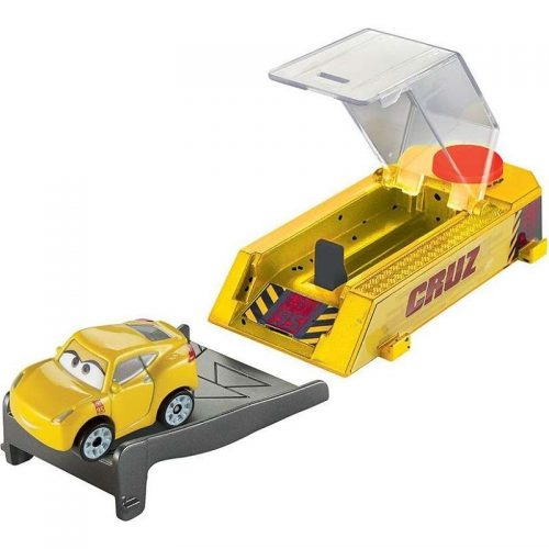 Cars Mini Racer mašīna+palaidējs no filmas Vāģi