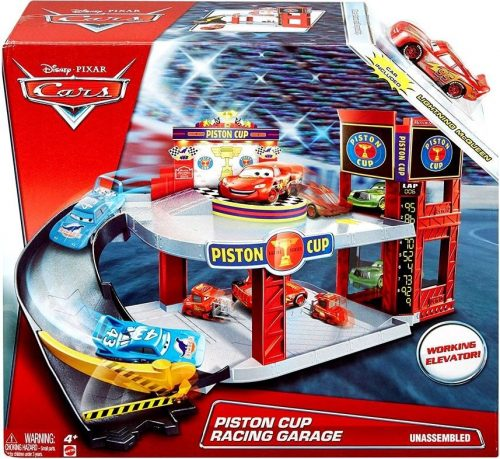 Cars Piston Cup Garage fimas Vāģi mašīnu garāža