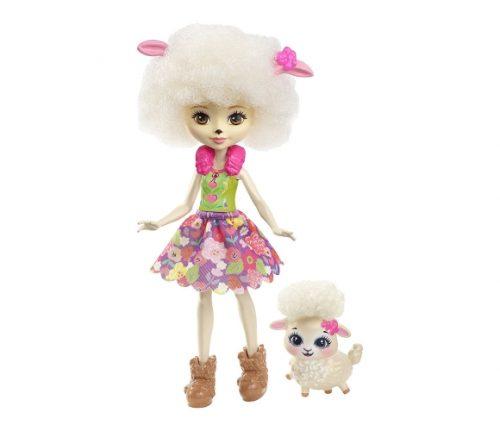 Enchantimals lelle ar aitiņu