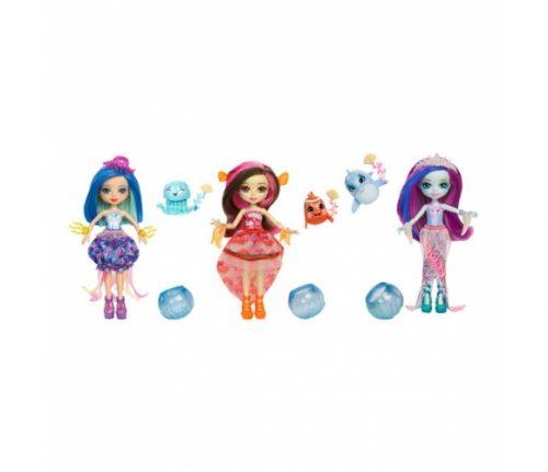 Enchantimals lelle ar aksesuāriem  Feature Water Doll & Animal