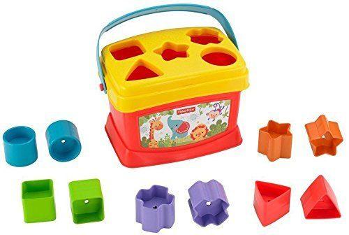 Fisher Price  attīstošā rotaļlieta Baby's First Blocks