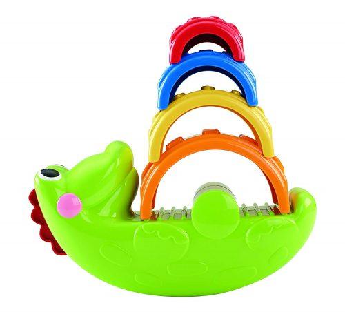 Fisher Price  attīstošā rotaļlieta  Stack & Rock Croc