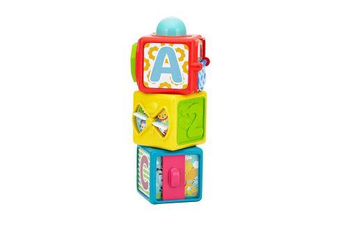 Fisher Price  attīstošā rotaļlieta Stacking action blocks