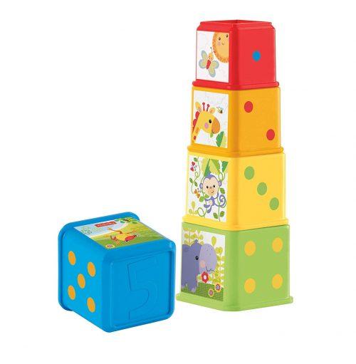 Fisher Price attīstošā rotaļlieta- klucīši Stack & Explore