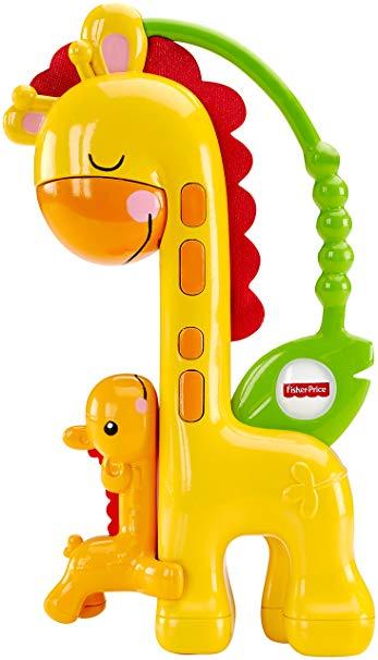 Fisher Price grabulītis žirafe