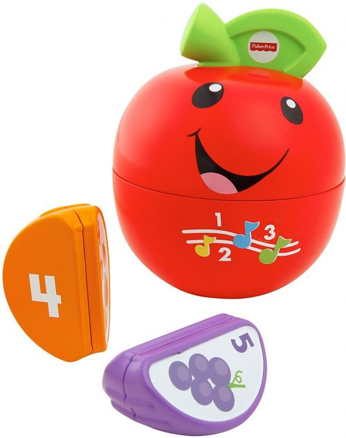 Fisher Price muzikālā rotaļlieta Laugh & Learn  Happy Apple  (RU)