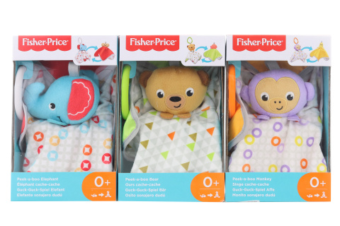 Fisher Price  rotaļlieta Peek-a-Boo Plush Ast – Window Box