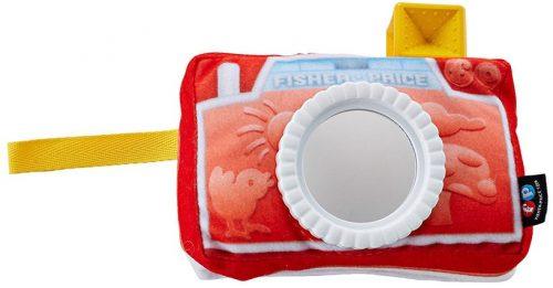 Fisher Price rotaļlieta/spogulītis Crinkle Camera Mirror