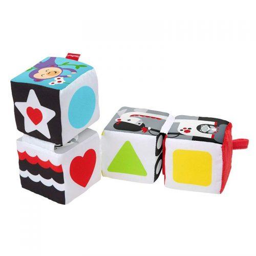 Fisher Price  rotaļu kubs Turn & Learn Soft Blocks