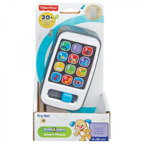 Fisher Price rotaļu telefons Laugh & Learn Smart Phone  (RU)