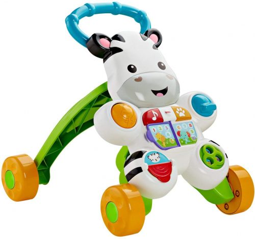 Fisher Price  staigulis / aktivitātes centrs  Learn with Me Zebra Walker