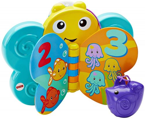 Fisher Price vannas rotaļlieta Butterfly vannas grāmata