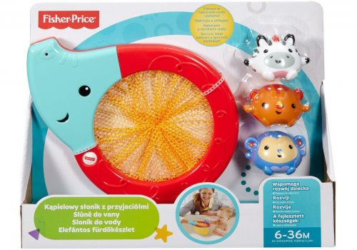 Fisher Price vannas rotaļlieta Splash and Scoop Elephant