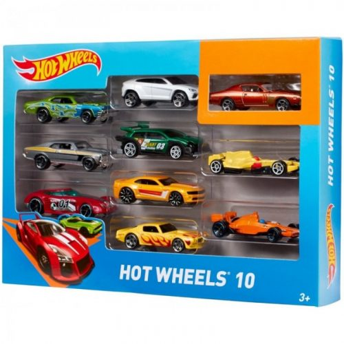 HOT WHEELS Basic Car 10 mašīnu komplekts