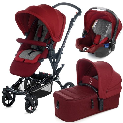 Jané Epic rati 3 in 1 (epic+koosISize+micro) RED BEING