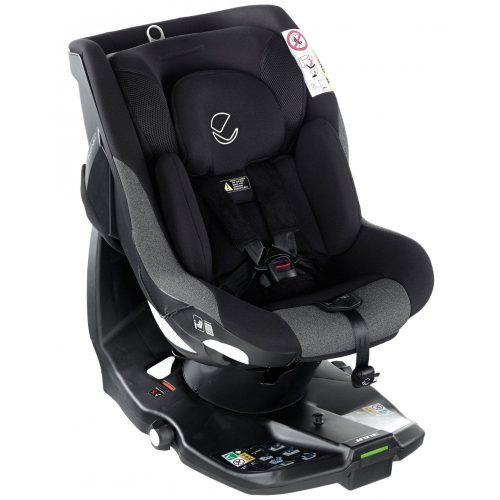 Jane autokrēsliņš Ikonic i-Size 360° (0-18kg) 2019 JET BLACK