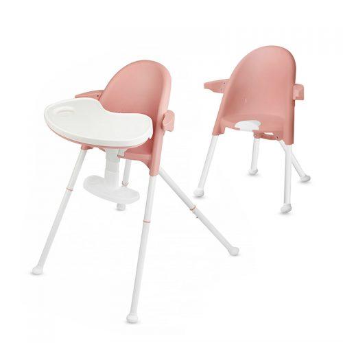 Kinder Kraft '18 Pini Pink 2 in 1 barošanas krēsls