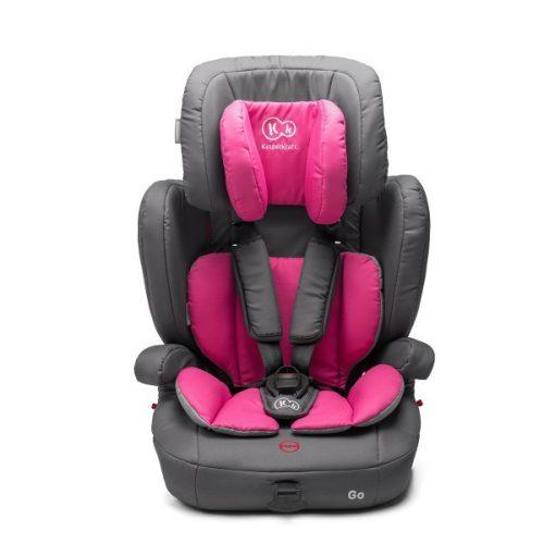 KinderKraft'18 Comfort Up Pink  Autosēdeklītis 9-36 kg, Grupa 1/2/3