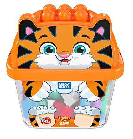 Mega Bloks kluči Animal Buckets