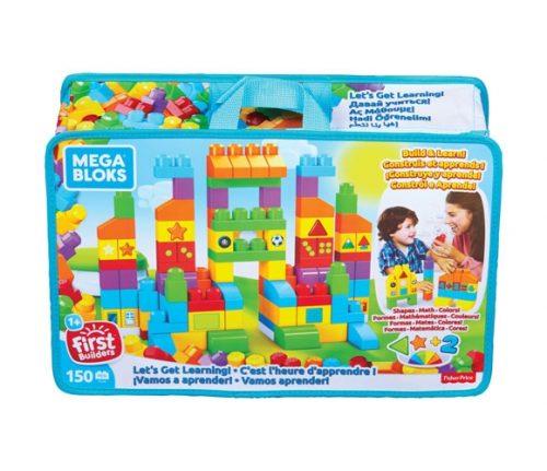 Mega Bloks kluči BB – Let's Get Learning Bag