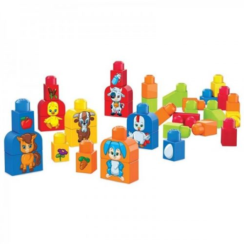 Mega Bloks kluči First Builders Build & Match Animals