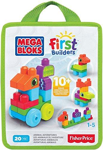 Mega Bloks kluči  First Builders Build n' Learn Bags