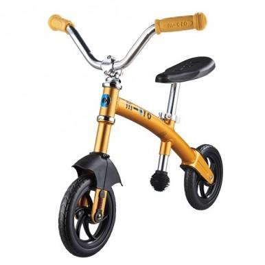 Micro G Bike+ Chopper Deluxe līdzvara ritenis – dzeltens