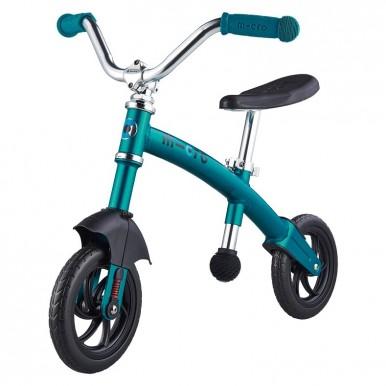 Micro G Bike+ Chopper Deluxe līdzvara ritenis – zils