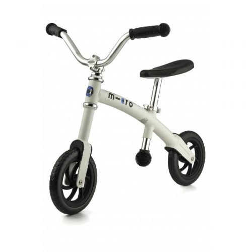 Micro G Bike+ Chopper līdzvara ritenis – balts