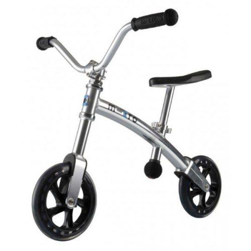 Micro G Bike+ Chopper līdzvara ritenis – sudrabs