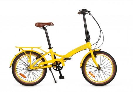 SHULZ GOA V velosipēds – dzeltens